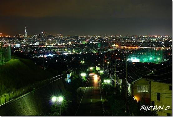 夜景を撮影してみました。綺麗かな?