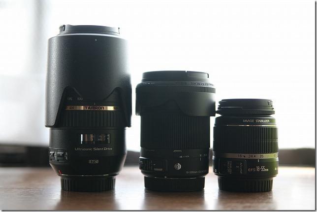 SIGMA 18-300mm TAMRON70-300mm比較2