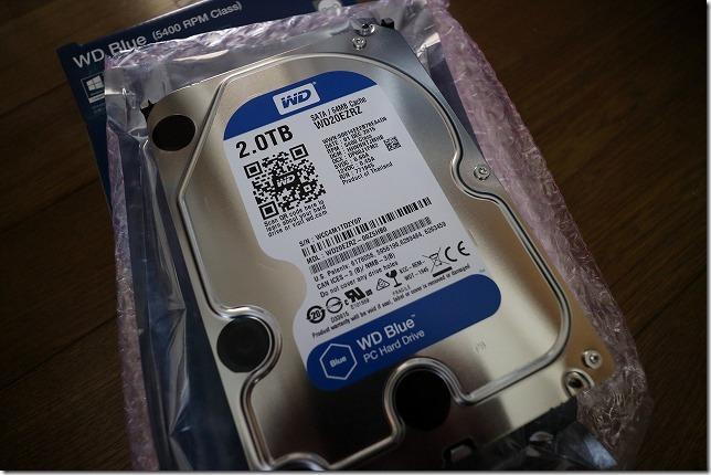 バックアップ HDD WD20EZRZ 2TB