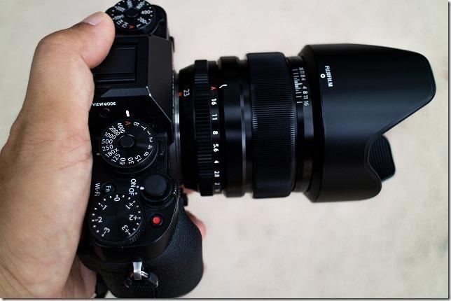 XF 23mm F1.4のレビュー その1(ぼけ味)