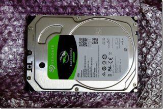 写真のバックアップディスクを入れ替え(SEAGATE 4TB ST4000DM004)