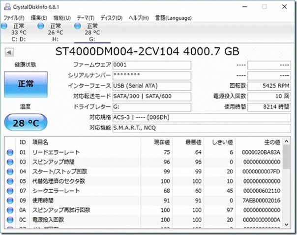 Seagate,4TB,機能