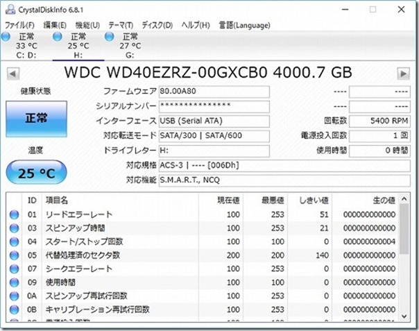 WD,4TB,機能