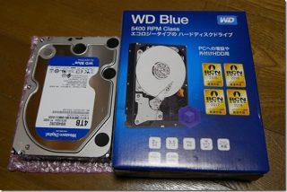4TB HDD Seagate/WDを比較(写真保管用)