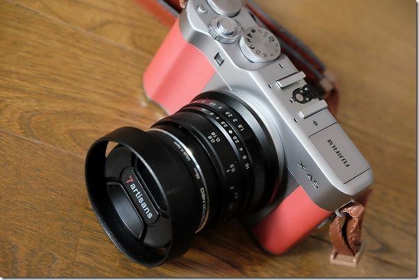 X-A5に七工匠25mmF1.8を装着