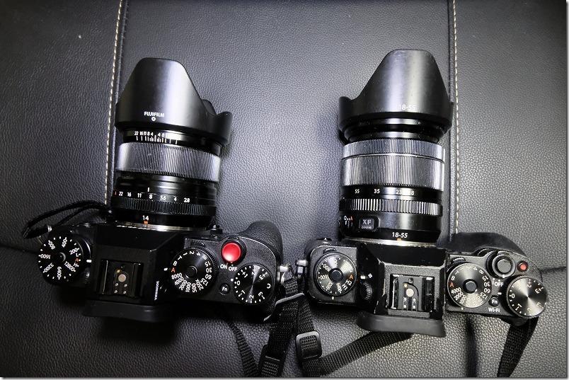 FUJIFILM,X-T2とX-T1を使って比較レビュー